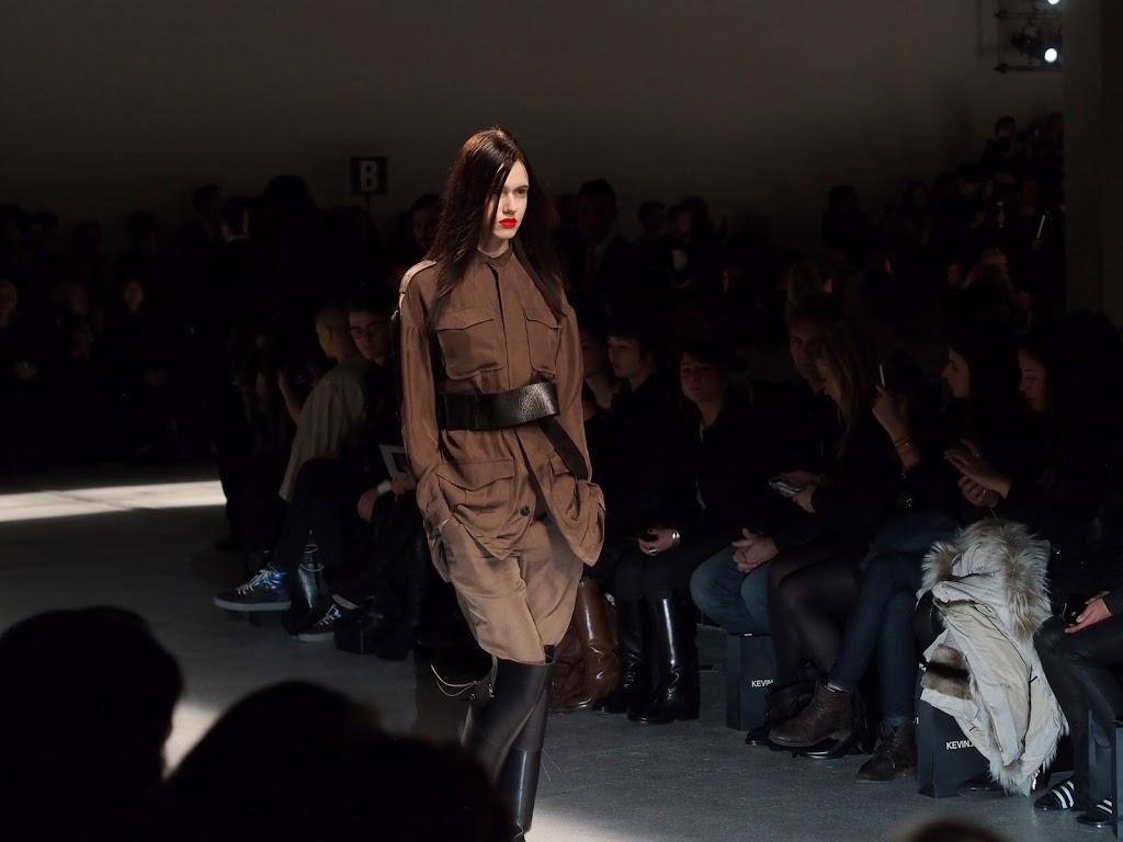 Models A.F van de Vorst show PFW Palais du Tokyo Paris AW14/15`