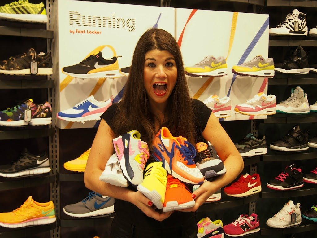 Footlocker Flagship store #findtherightsneaker Xite Sneaker giveaway