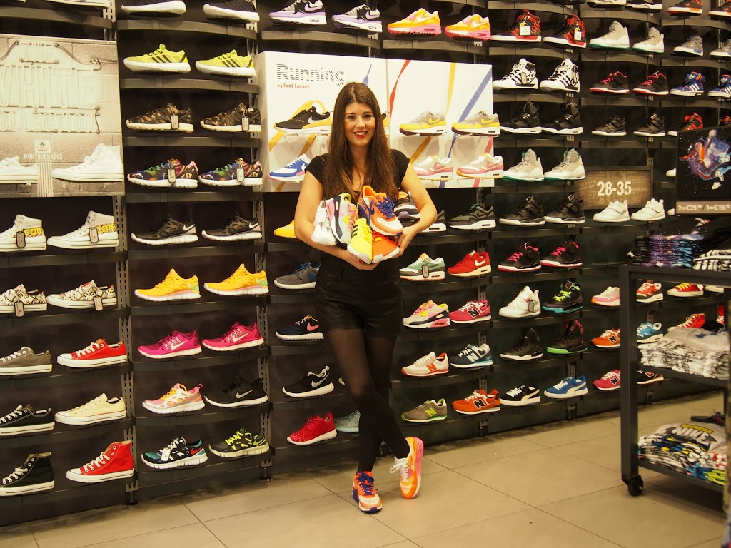 Footlocker Flagship store #findtherightsneaker Xite Sneaker giveaway