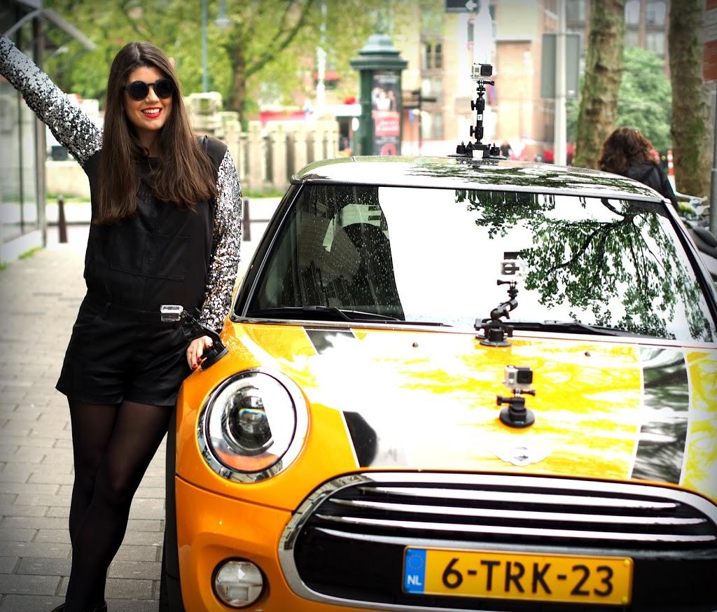 Mini Cooper GoPro proefrit FashionistaChloe OOTD