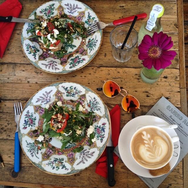 lunch bij Bairro Alto Nijmegen