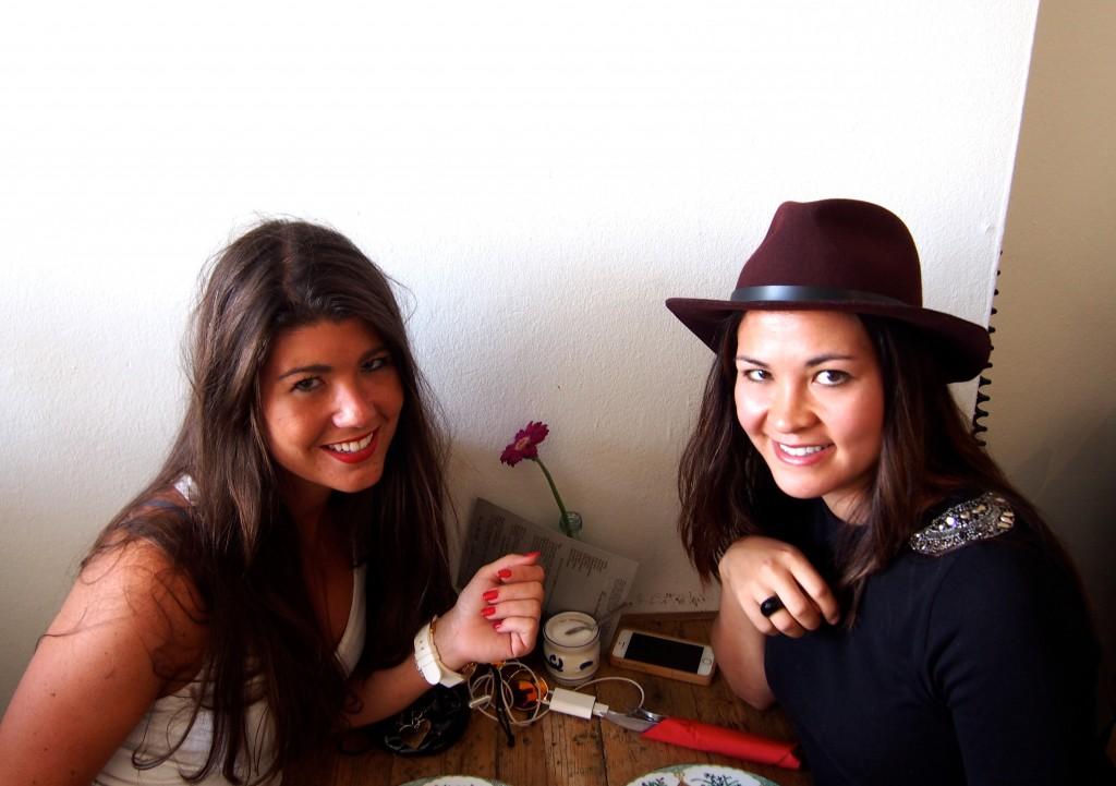 Samen met Anneloes bij Bairro Alto Nijmegen