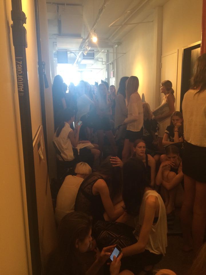 Castings New York Fashionweek NYFW by Lieke van Houten
