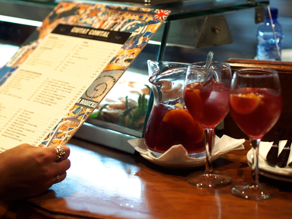 Tapas bar Cuidad Condal Barcelona