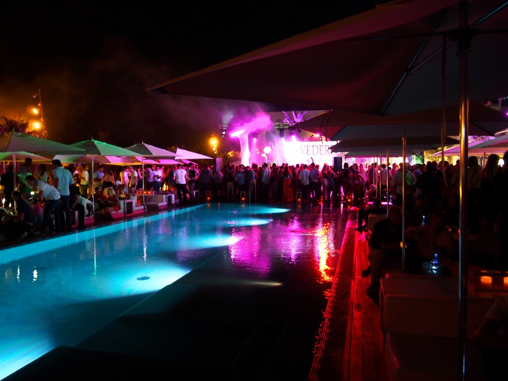 The WetDeck party by Hotel W Barcelona