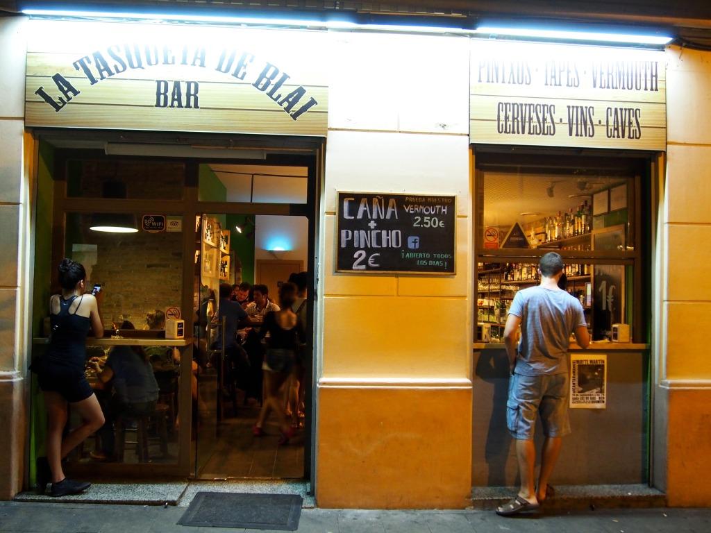Pinchos restaurant La Tasqueta de Blai Barcelona