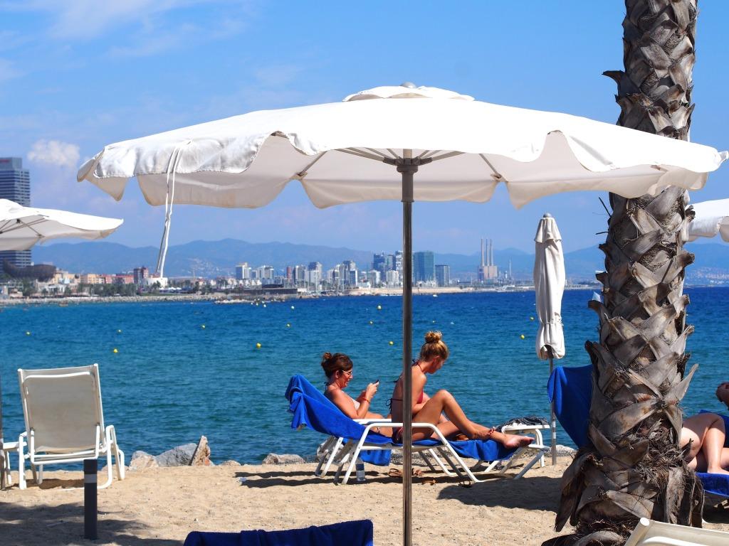 view Hotel W Barcelona