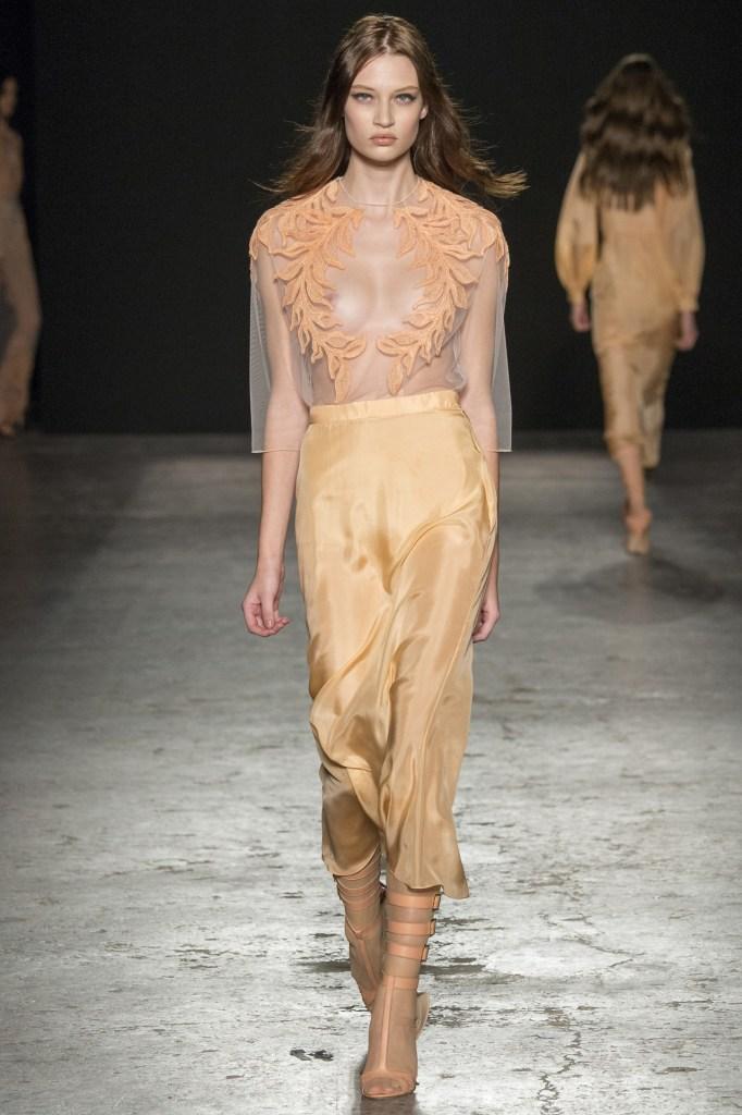 Lieke van Houten Francesco Scognamiglo during Milan Fashionweek