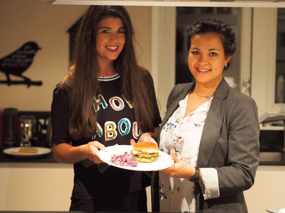 Foodie Wednesday Anneloes, foodblogger, kikkererwten burger