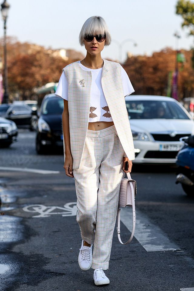 Paris Fashion week street style SS15