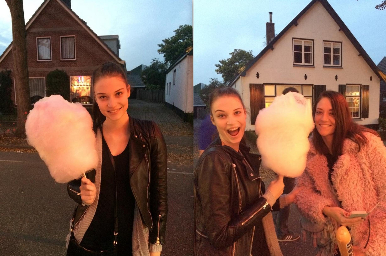 Lieke van Houten and sister Kermis 2014