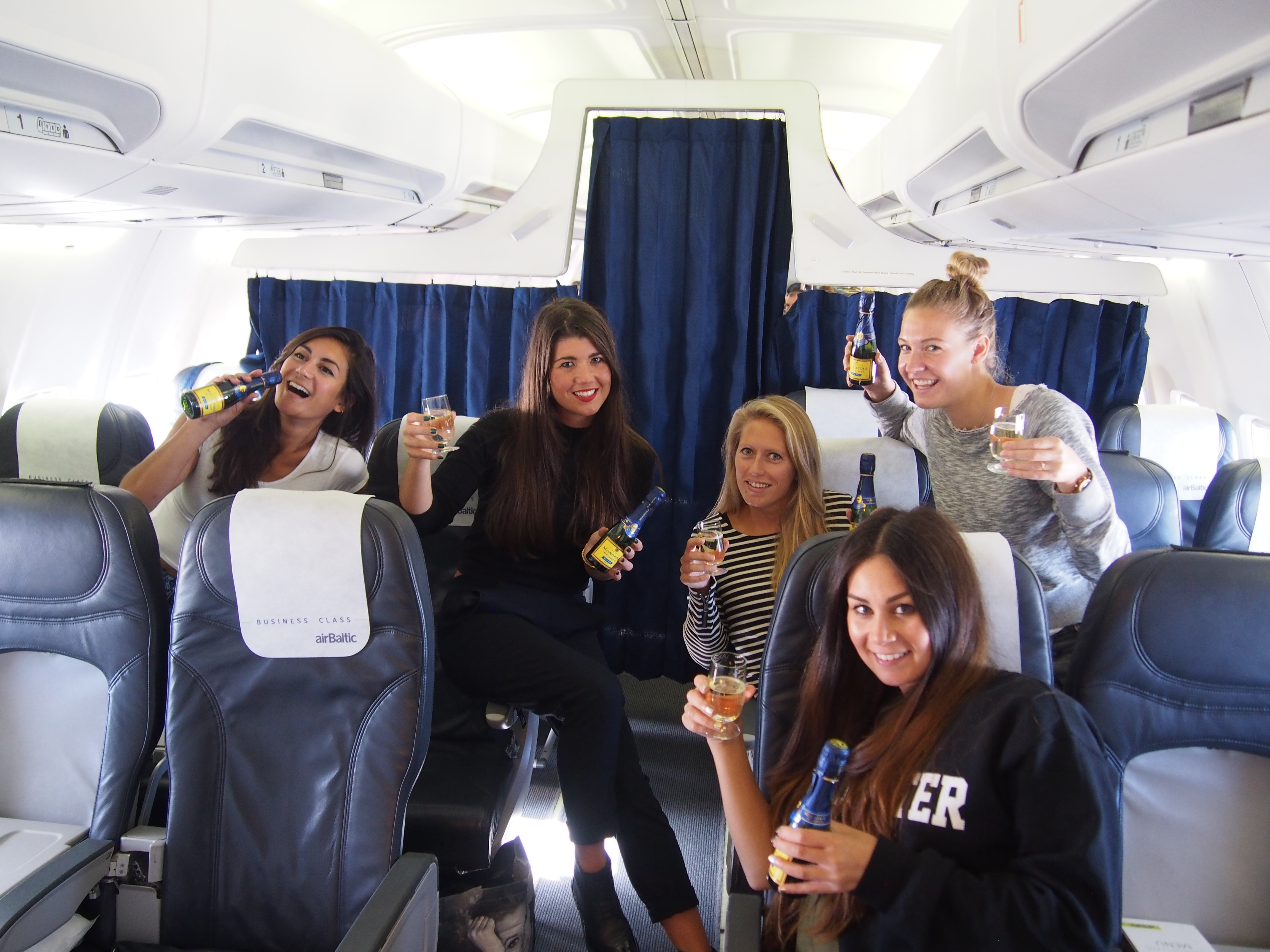 Air Baltic to Riga Latvia