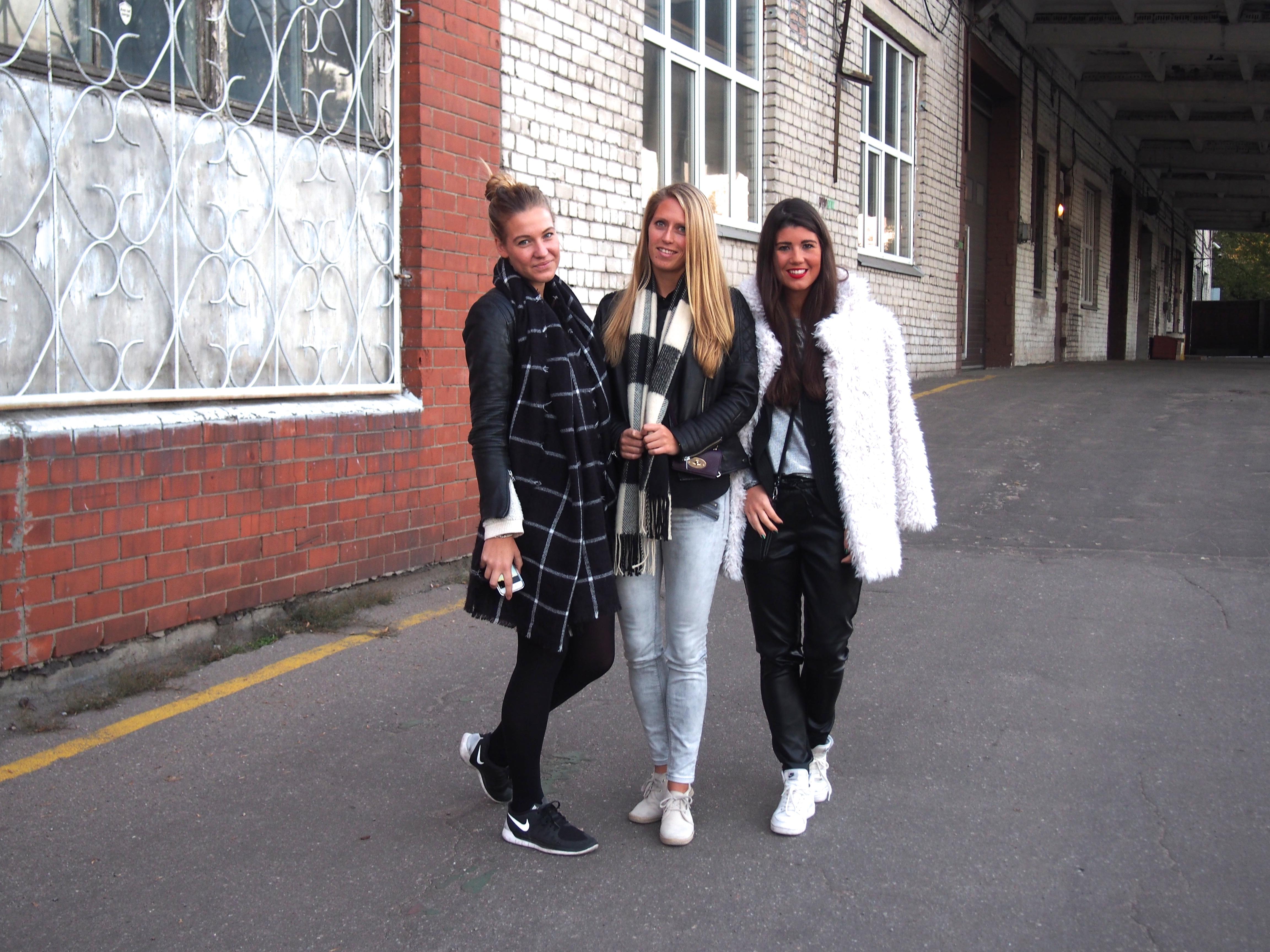 Aqua Luna Riga Latvia with Marloes and Annemerel