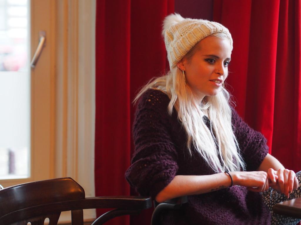 Kyla La Grange interviewed by Fashionista Chloe Amsterdam Paradiso