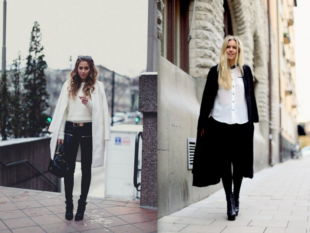 Swedish bloggers Kenza and Fanny Staaf (stockhom)