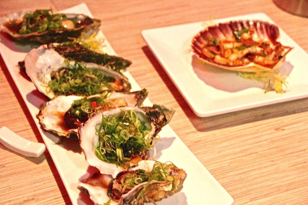 Sushi at Michiu Amsterdam Foodblogger