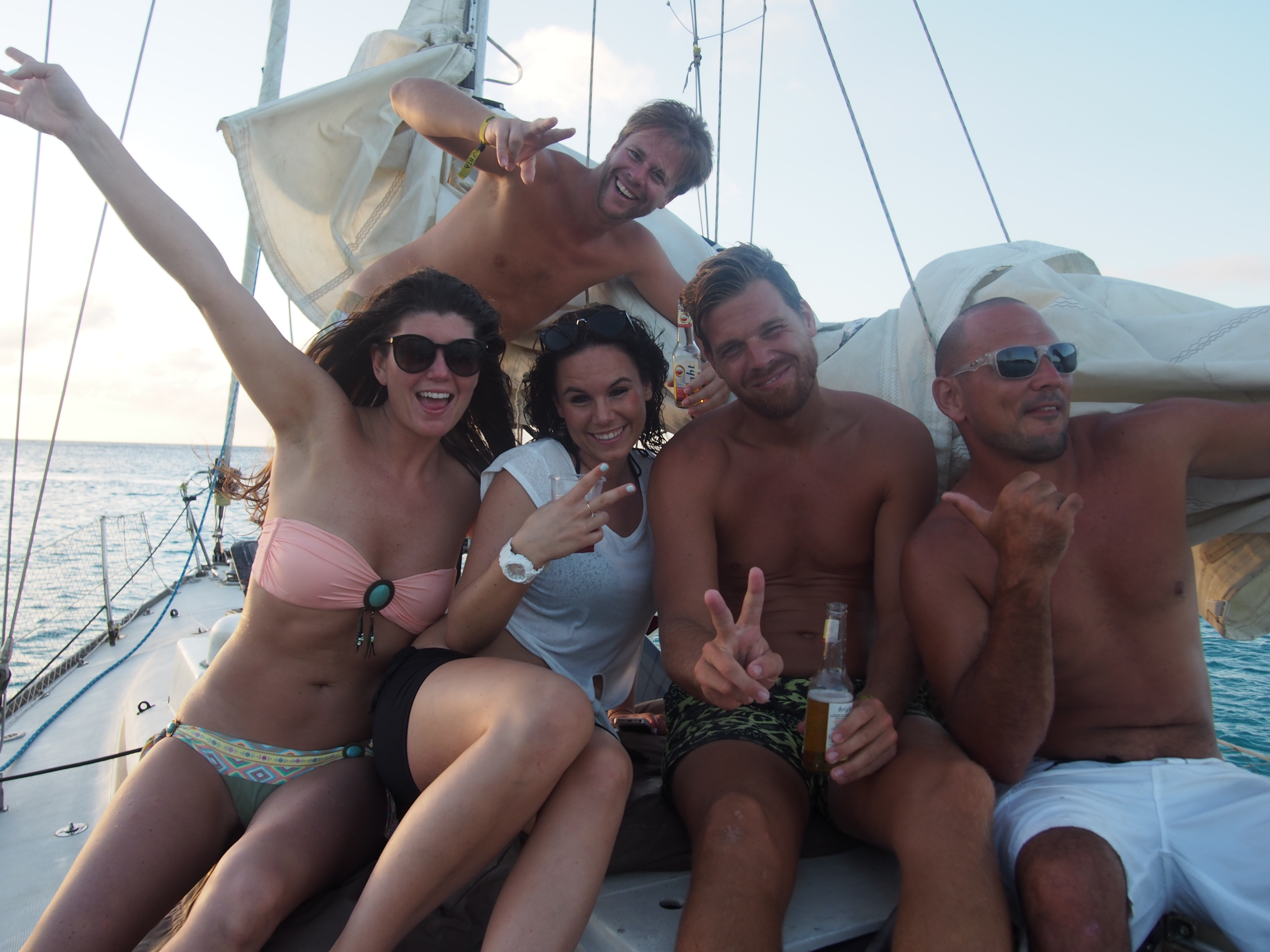 Aruba holiday 2014 Eagle Beach beach toernooi