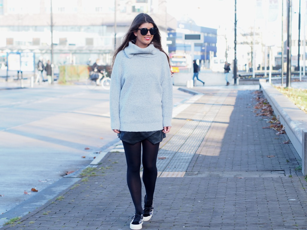 D.A.T.E Sneakers OOTD Fashionista Chloe