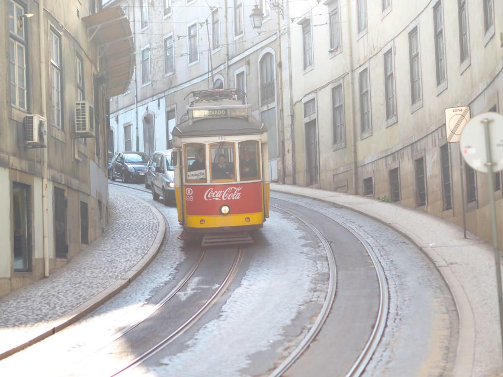 Lissabon trams Olympus PEN Generation Citytrip