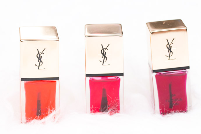 The Couture Splash - The Pop Water collection by YSL beauty blogger review Glossy Stain in 204 Onder Rose
