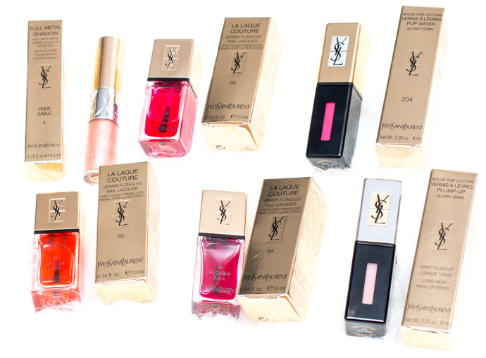 The Couture Splash - The Pop Water collection by YSL beauty blogger review