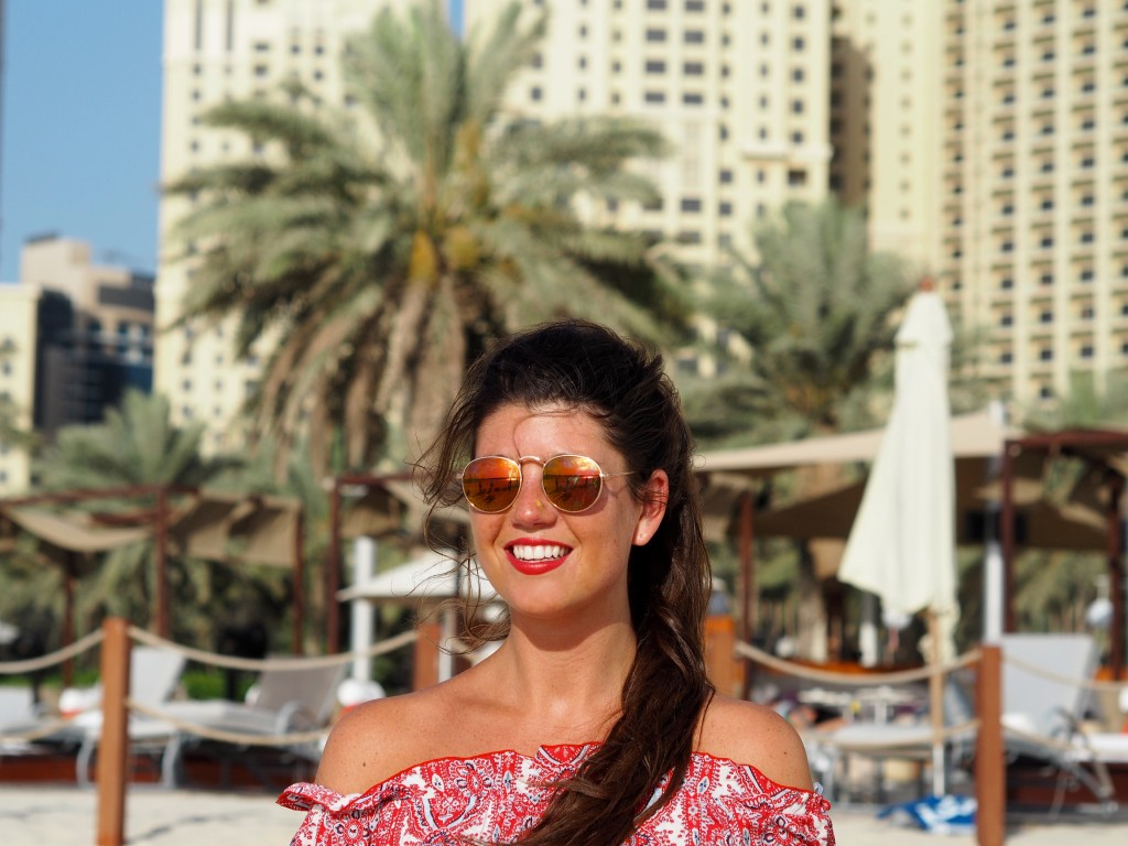 My Isabelli OOTD DUBAI Sheraton Jumeirah Beach Club bliss lounge DUBAI