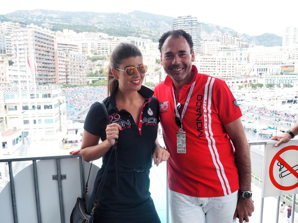 Grand Prix de Monaco together with McGregor Mike Overdijk