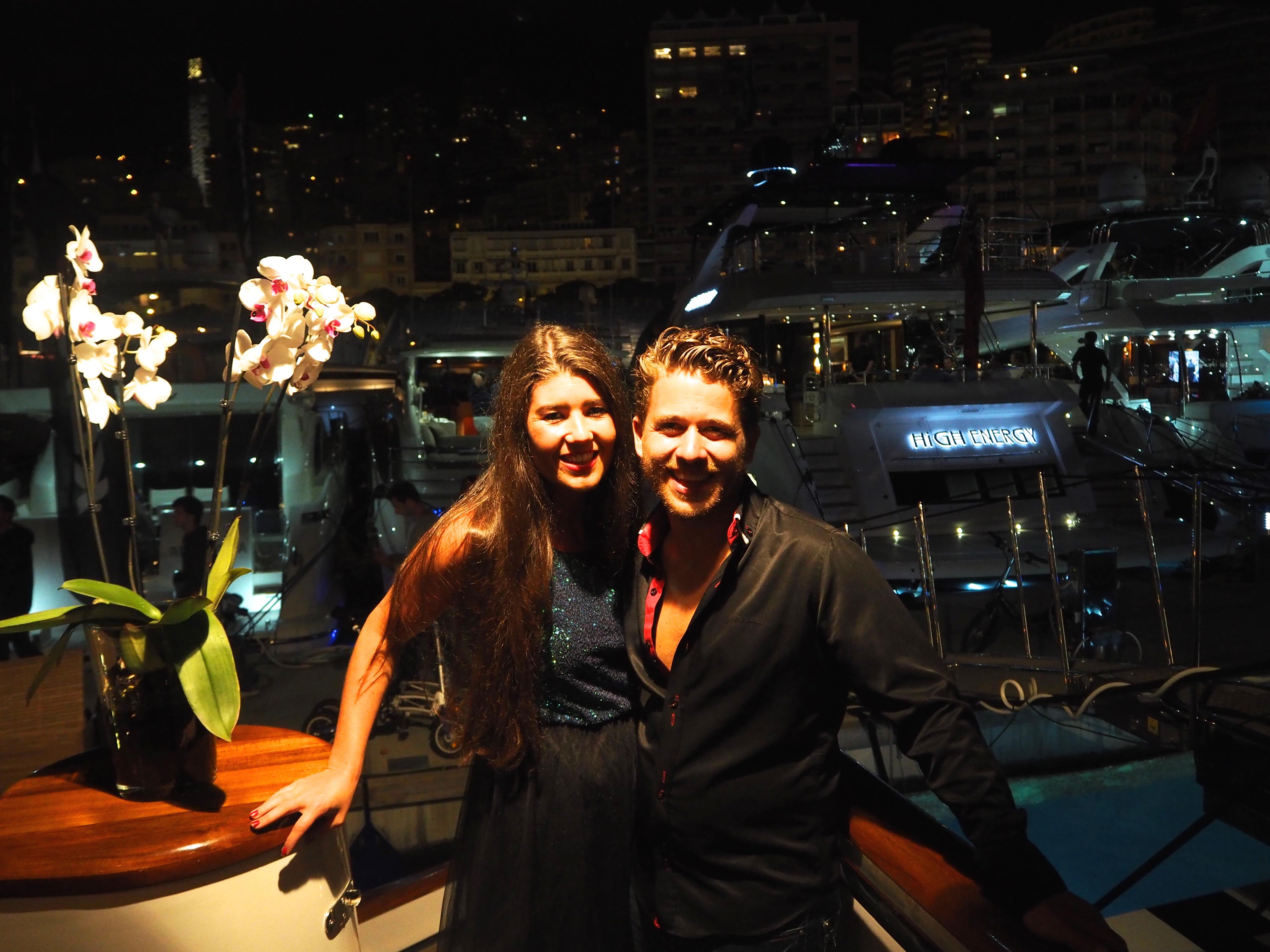 GP Management Grand Prix de Monaco party Superfun yacht Monaco together with Jonny Dodge