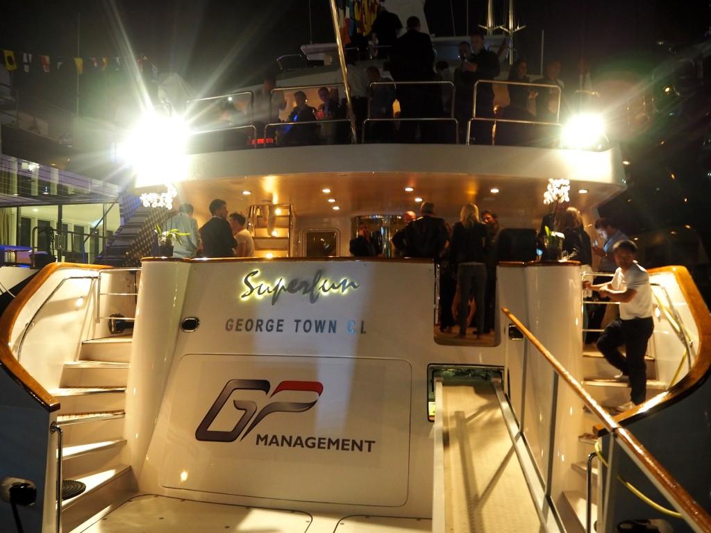 GP Management Grand Prix de Monaco party Superfun yacht Monaco