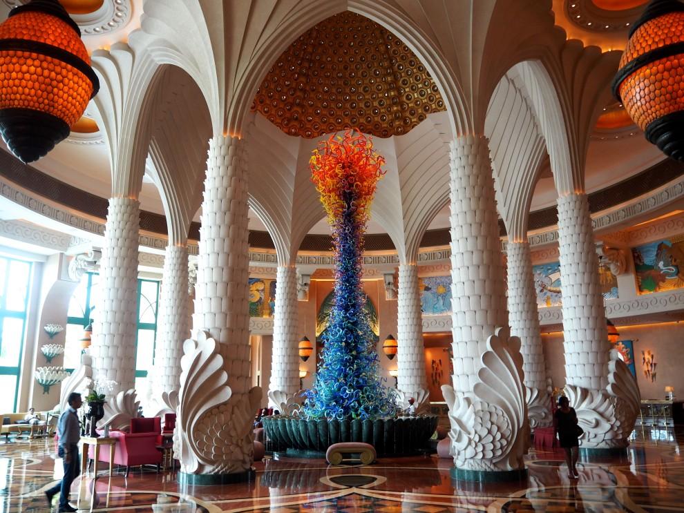 Atlantis hotel DUBAI Meeting Point Dubai sunweb Citytrip things to do in Dubai