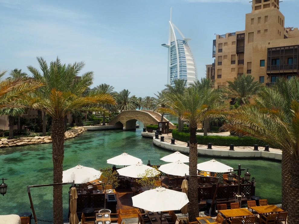 Medinat Jumereirah Souk Medinat Abra Boat DUBAI Meeting Point Dubai sunweb Citytrip things to do in Dubai