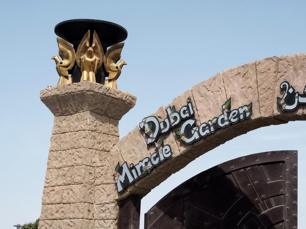 Miracle Garden Dubai Land DUBAI Meeting Point Dubai sunweb Citytrip things to do in Dubai