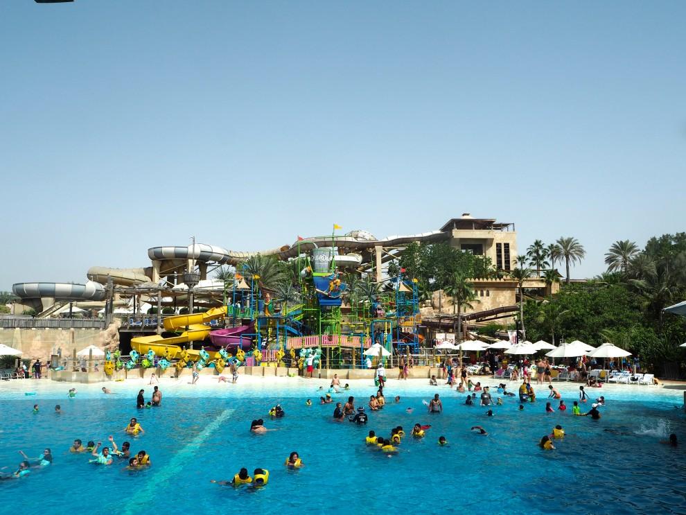 Wild Wadi Waterpark Jumeirah Beach Dubai Meeting Point Dubai sunweb Citytrip things to do in Dubai