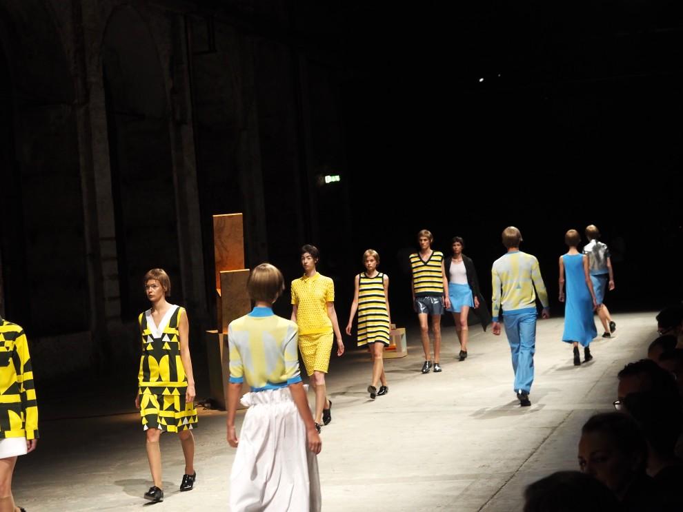 Arthur Arbesser show Pittiuomo88 Firenze catwalkshow blogger