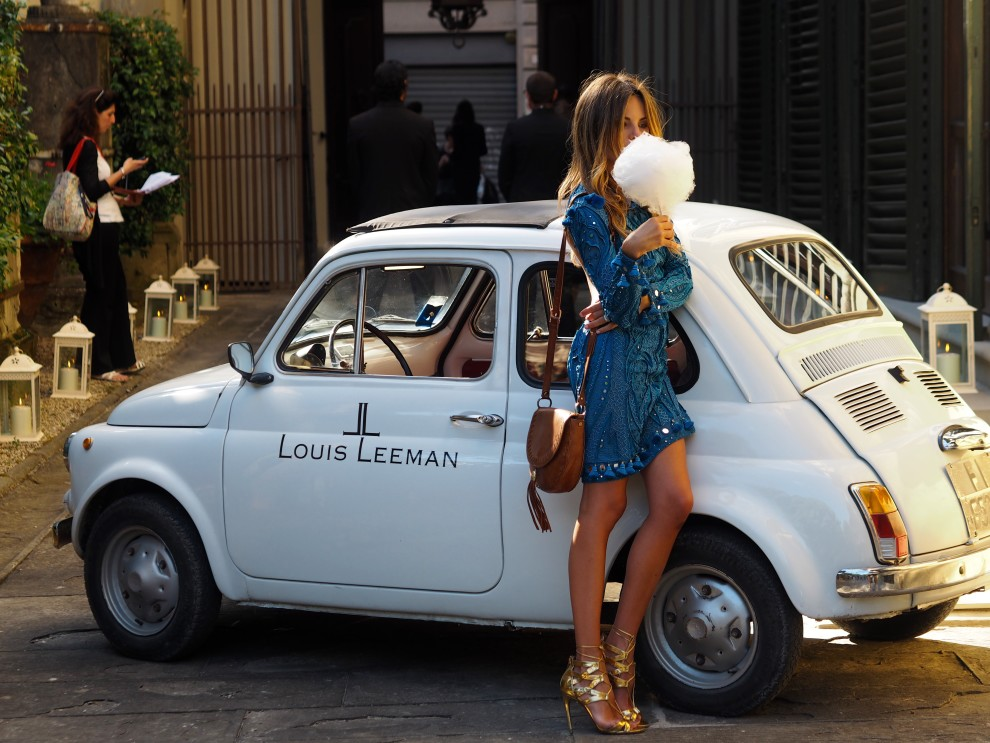 Louis Leeman event Firenze PittiUomo88