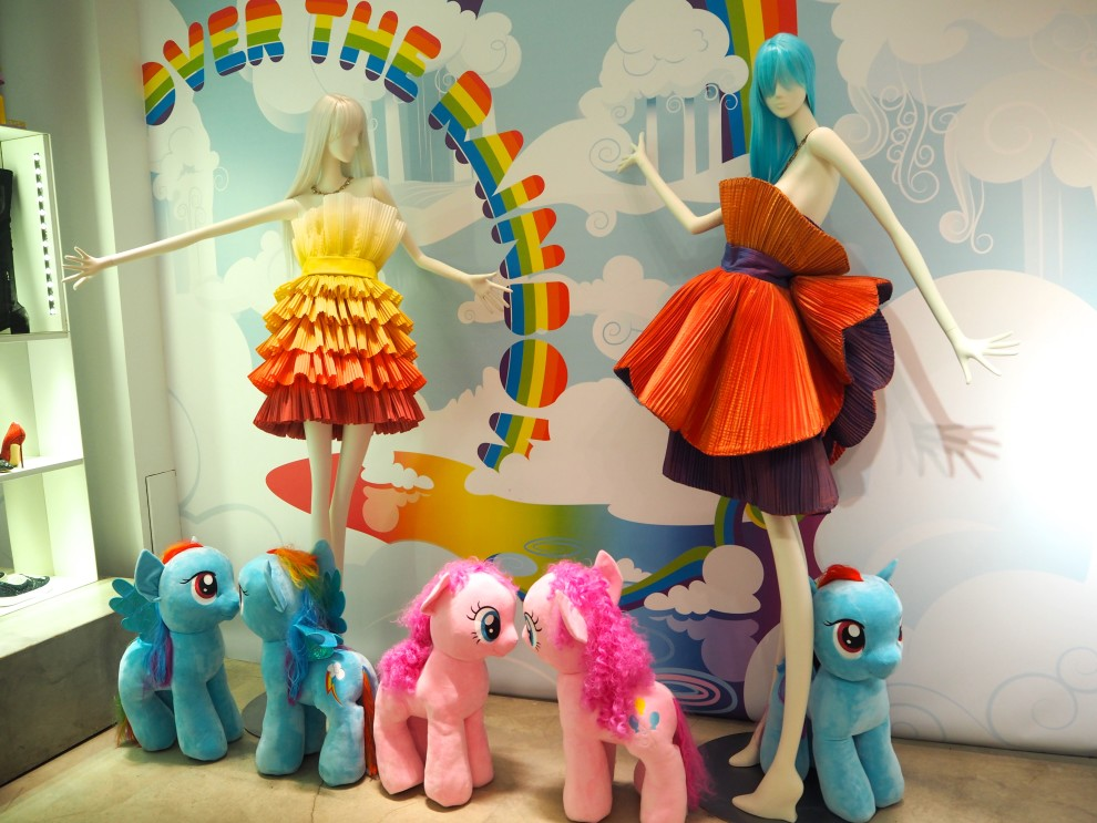 Firenze4ever by LuisaViaroma My Little Pony over the rainbow Fashionista Chloe Fashionblogger