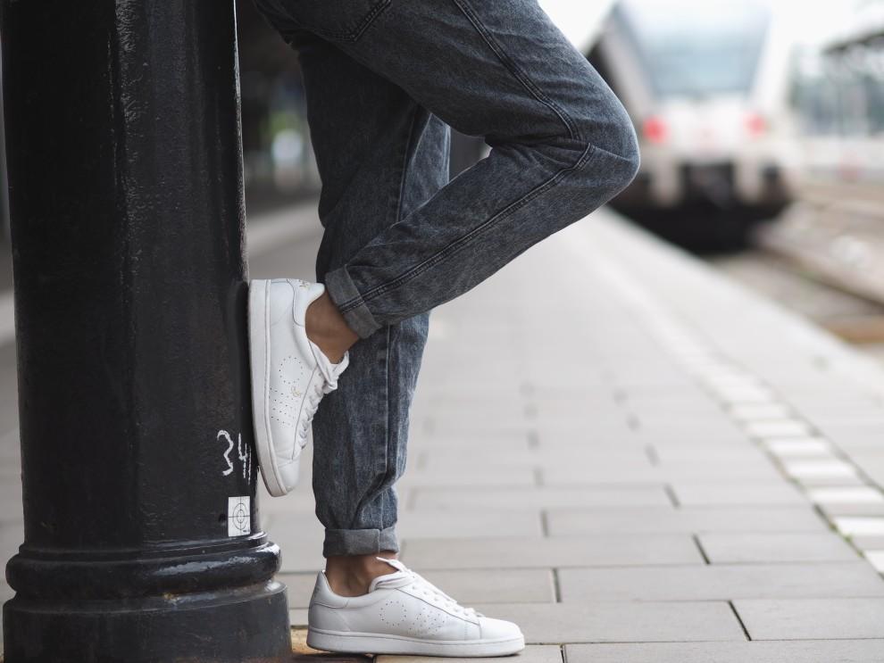 MR BOWTITAR: acid wash dungarees fashionblog OOTD