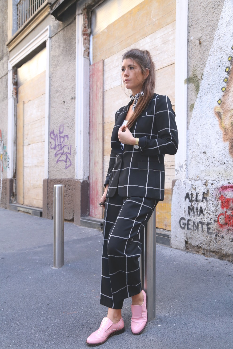 SIS BY SPIJKERS & SPIJKERS IN MILAN FASHION WEEK COSTUME NATIONAL SHOW LF SHOES BLOGGER ITALY
