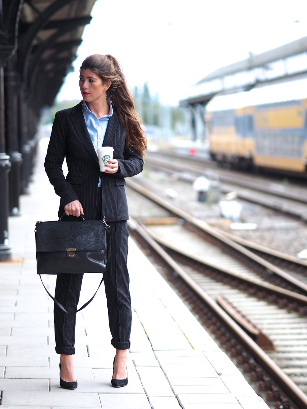 the suit trends fashion vero moda fashionblogger business OOTD