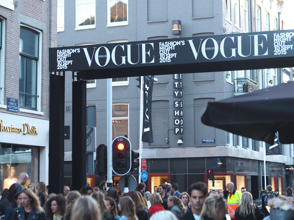 Vogue fashion night out amsterdam andaz amsterdam