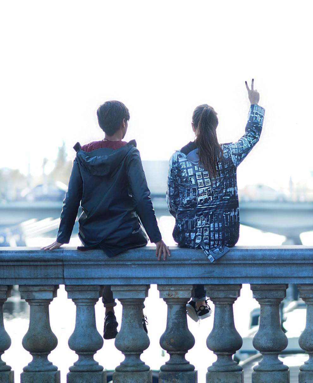 fashionista chloe Ubichi raincoats OOTD Amstel hotel