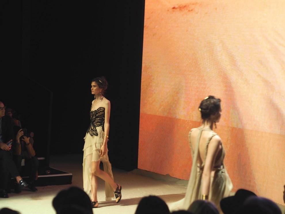 Alberto Ferretti show MFW MILAN FASHIONWEEK