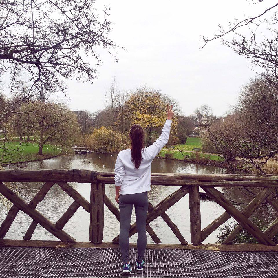 the week of fashionista chloe Running SarphatiPark Amsterdam de Pijp
