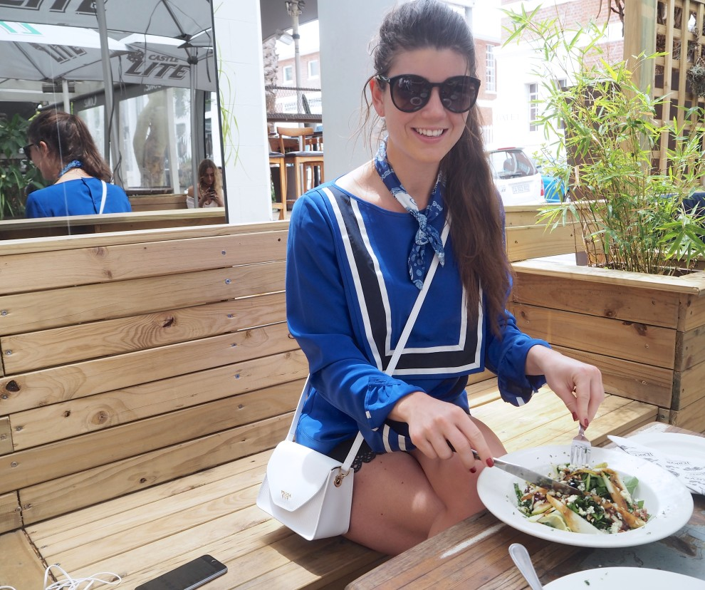 CAPE TOWN DAY 1 WHAT TO DO IN CAPE TOWN OOTD FASHIONBLOGGER JERRY'S BURGER BAR