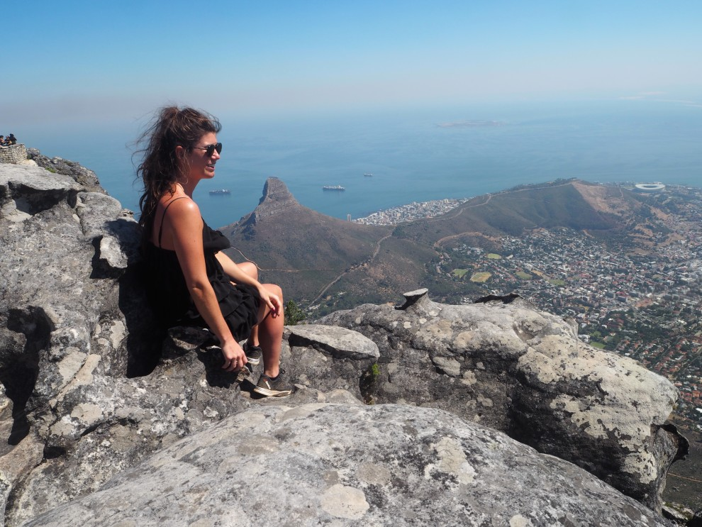TABLE MOUNTAIN FASHIONISTA CHLOE WHAT TO DO IN CAPETOWN