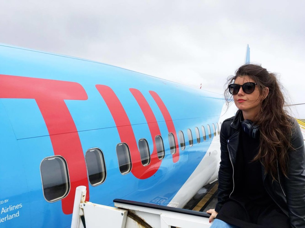 First flight from PICO TO AMSTERDAM WITH TUI NEDERLAND BY FASHIONISTA CHLOE BLOGGER AZORES