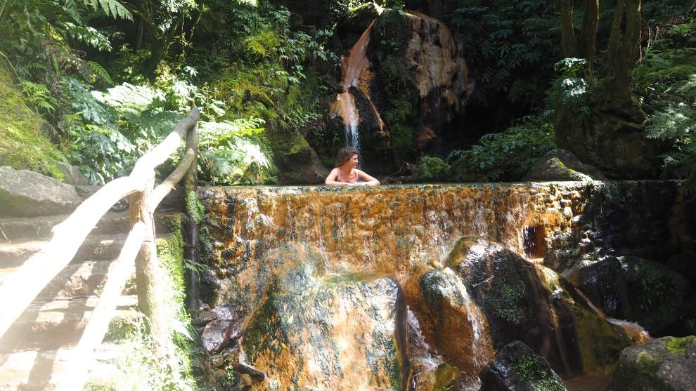 AZOREN São miguel tui nederland Azores travel blogger Caldeira Velha