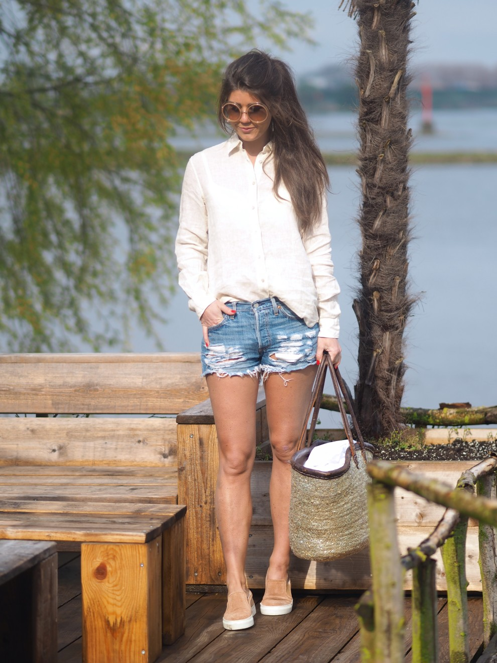Summer shirts Xacus OOTD - How to wear- fashionblogger