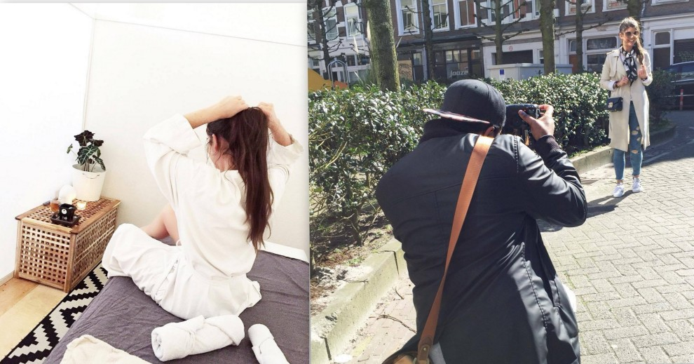 HET MASSAGE HUYS FASHIONISTA CHLOE DIARY SHOOT METRO MODE
