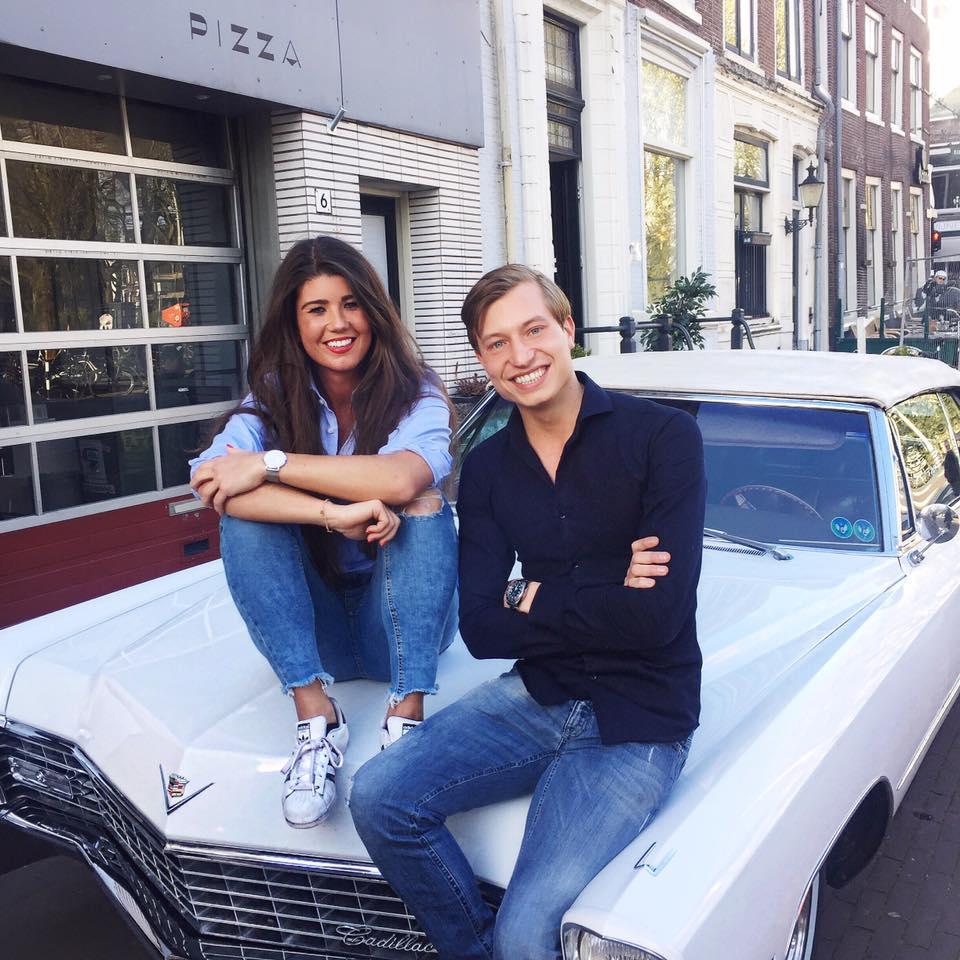 NØLSON lancering Pistache Amsterdam Chloe Sterk Niek Koedam